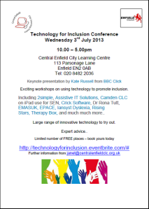 Technology for inclusion